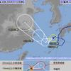 【台風情報】台風12号は1日06時現在で枕崎市の西南西約220㎞にあって中心気圧は990hPa・最大風速は20m/s・最大瞬間風速は30m/s!九州南部・奄美地方では強風・強雨・高波に警戒!
