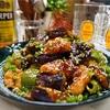 【レシピ】ポン酢で簡単♬鶏むね肉と茄子の甘酢炒め♬