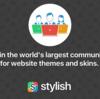 CSS拡張アドオンStylishでサイトの背景を灰色にする方法
