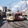 熊本市電が回送電車と乗客50人乗り電車接触