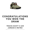 NIKE 「 NIKE AIR JORDAN 6 Travis Scott 」⭐️⭐️⭐️