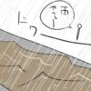 雨がヤバイ日の雑記
