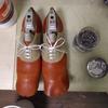 俵型のおにぎり?そんなコンセプトの靴できました^^