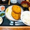 福徳食堂@原木中山 まぐろメンチカツ定食