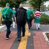 ラグビーワールドカップ「ニュージーランド対アイルランド」の試合を観に行った