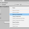 【Unity】Inspector で RectTransform を右クリックして「Remove Component」を選択すると Transform に変換できる