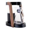 ウッドのフレームとニッケルメッキ加工がされたアルミニウムのデザインがかっこいい「Ratio Eight Coffee Maker」コーヒーメーカー