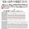 6月1日(木)高速バス『福島・仙台空港線』のダイヤ改正について
