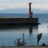 波静かな住吉漁港の散歩…