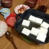 ちょっと湯豆腐を作ってみますね…