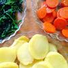 緑・白・赤の3種類の野菜入りのトリコロール・パイ包み焼き【レシピ】