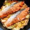 鮭のちゃんちゃん焼きを作ってみました。