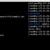 【AWS】EC2上にnfsサーバを構築する