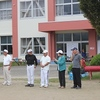 中央小コミュニティ スポーツ大会  福祉ボランティアまつり(和太鼓クラブ)