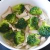 ブロッコリーとエリンギの中華風スープ
