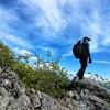 石鎚山登山途中の絶景スポット