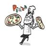 ピザは平たい、平たいものはつまらない、つまらないものはうっとおしいというロジック