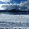 秋田一人旅~田沢湖観光 たつこ像は湖で光り輝く