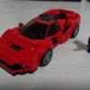 【パーツの使い方が鬼】レゴのフェラーリ F8 トリビュート作ってみた