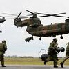 陸上自衛隊の大型輸送ヘリコプターCH-47J / JA
