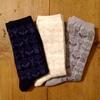 しまむらで(^^♪北欧っぽいデザインのオーガニックコットン靴下を見つけました。