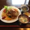 「秋桜」で焼肉ライスオムレツセット