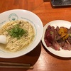 586. 肉寿司セット@麺屋六感堂(池袋):とろける炙り肉寿司と牛テールかけラーメンの最強コラボ!