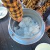 林間学習2日目⑥ 野外炊飯 おいしいカレーできあがり