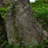 山王宮のいっかくに祀られている庚申塔 大分県豊後高田市上香々地