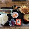 鴨島道場・臨時稽古とさばミリン焼き・とんかつ定食( ご飯大盛り)