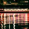 夜の舟を舟から撮ったわけで・・・
