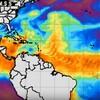 新たなマイクロ波衛星画像とか メキシコでは地震ではない謎の揺れ
