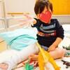 2歳息子、骨折して入院。幼児の入院は過酷。