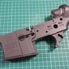 S&T M4 フレームの塗装
