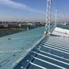 体育館屋根のシーリング工事はコシが命