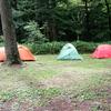 雨キャンプ@上高地 小梨平キャンプ場