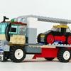 レゴ:大型トラック(キャリアカー)の作り方 LEGOクラシック10715だけで作ったよ(オリジナル)