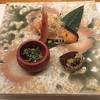 ランチ:日本料理 秋を感じる栗を使った前菜