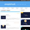 新はてなブログテーマ「SimpleFresh」を公開しました!