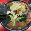 元吉村家直系店で野菜たっぷり家系ラーメンをいただく「ラーメン 環2家」@下永谷