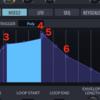 SynthMasterの使い方9-MSEG画面の解説