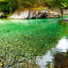 【阿寺渓谷】マイカーで行く!エメラルドグリーンの絶景スポットを紹介!