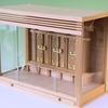 至ってシンプルな箱型の神棚 筋幕聖シリーズ 大型サイズ
