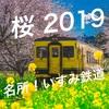 【桜と鉄道】いすみ鉄道と桜を撮ってきました!