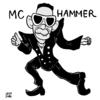MCハマーの似顔絵