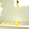 2歳児の英語入門に、お風呂限定で英語で会話