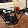 Z400FXもどき 復旧作業 組み上げ