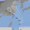 台風10号『アンピン』は20日から沖縄地方に接近!21日には暴風域を伴ってかなり接近する見込み!21日03時には中心気圧975Pa・中心付近の最大風速30m/s・最大瞬間風速45m/sの予想!!