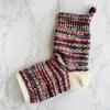 フリーソックで編む つま先のない靴下(3) 片足完成
