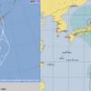 【台風情報】本日25日03時に台風12号『ジョンダリ』が発生!27日頃に小笠原諸島近海・29日には関東地方に上陸か!?日本の南海上の海面水温が非常に高く、勢力を維持したまま上陸する可能性が高い!!